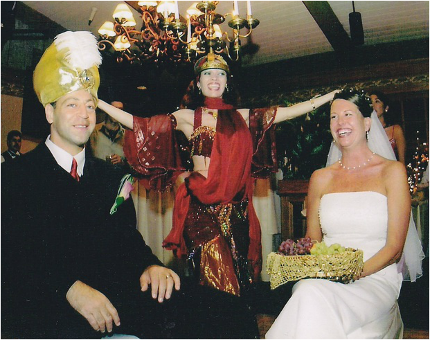 Belly Dancer Weddings